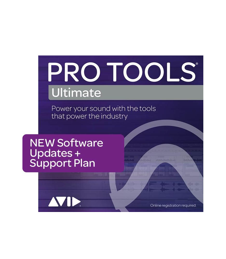 Electronic Software Pro Tools Ultimate 1Year Software Updates Support Plan