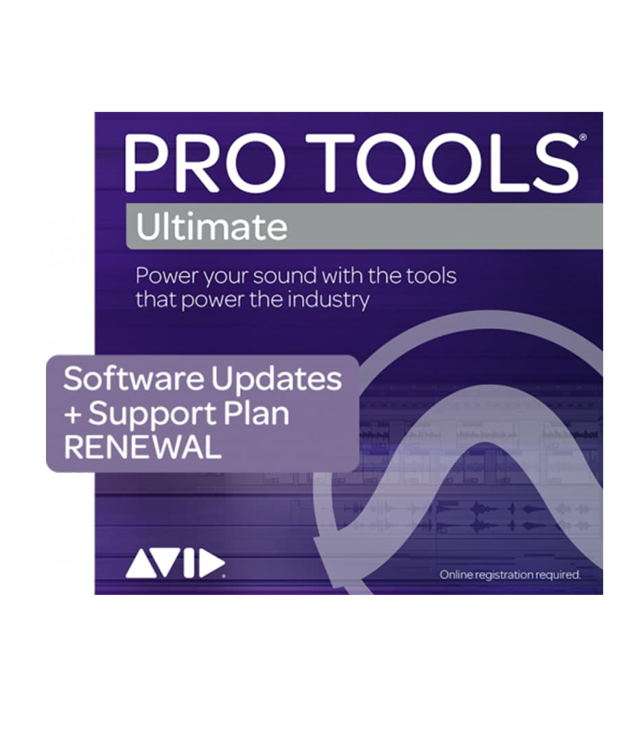 Pro Tools Ultimate 1 Year Software Updates