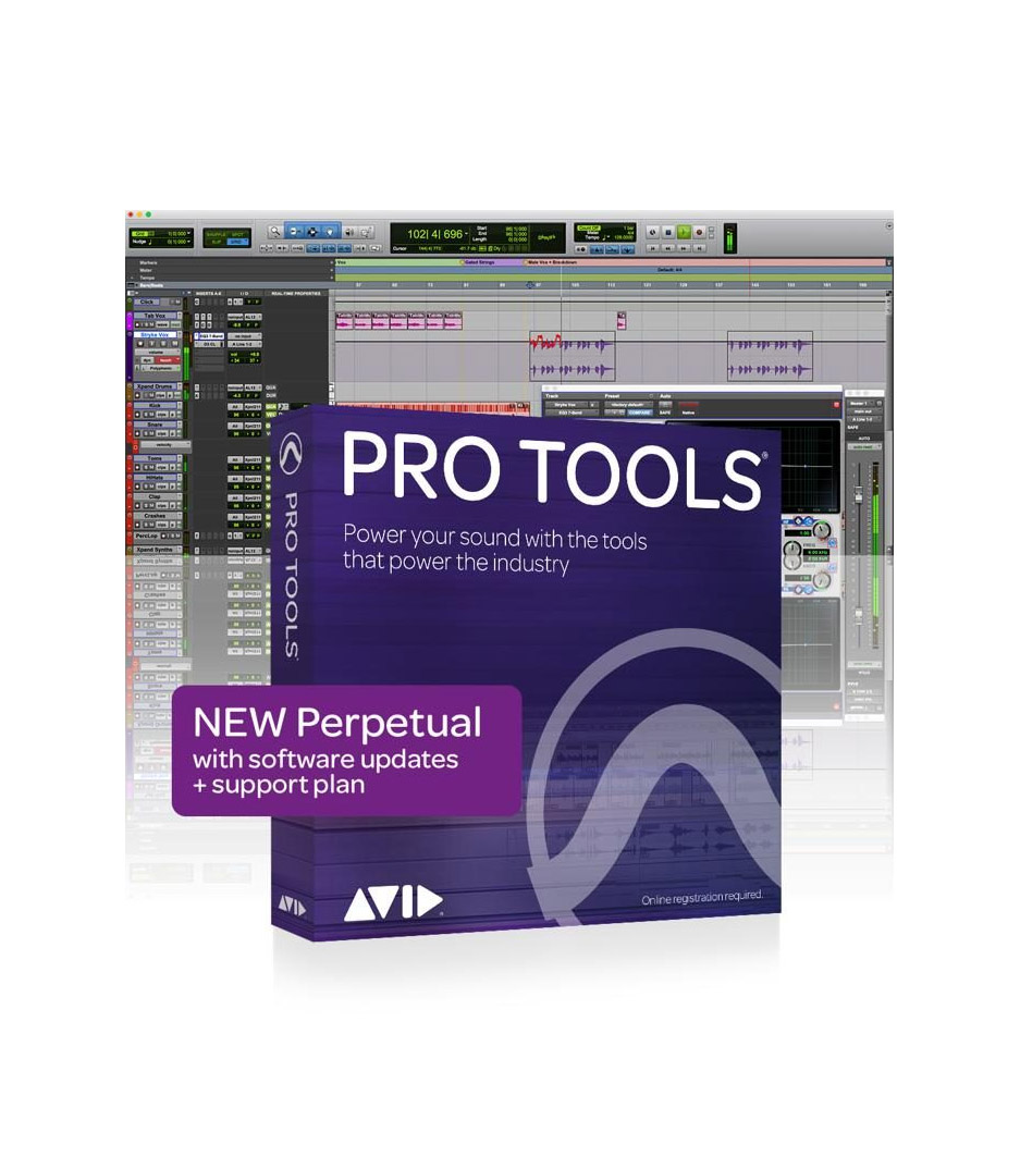 Buy avid protools - Pro Tools Perpetual License NEW 1 year software do