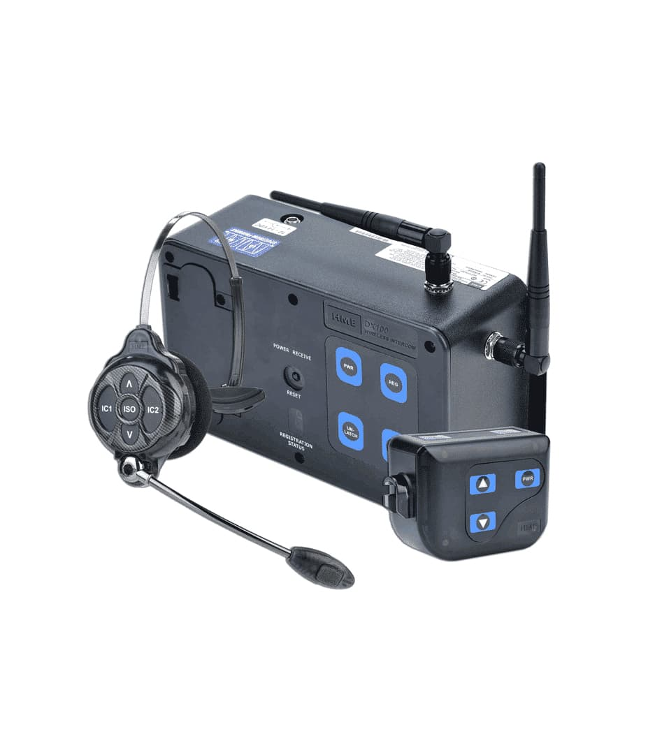 4-Up DX100 System with HS16 Headsets