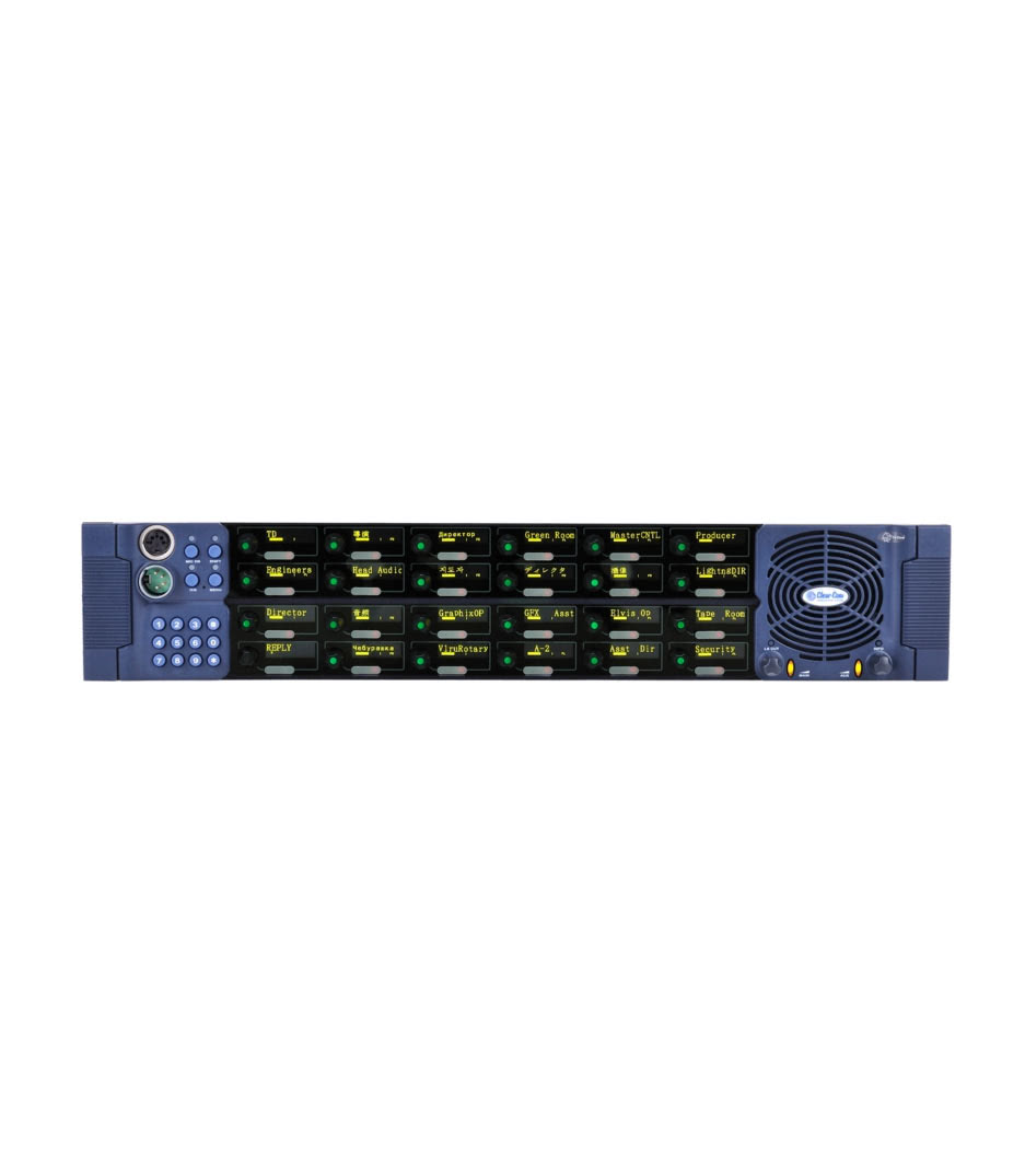V24RDX4 V Series panel 2RU 24 rotary XLR4  IP e