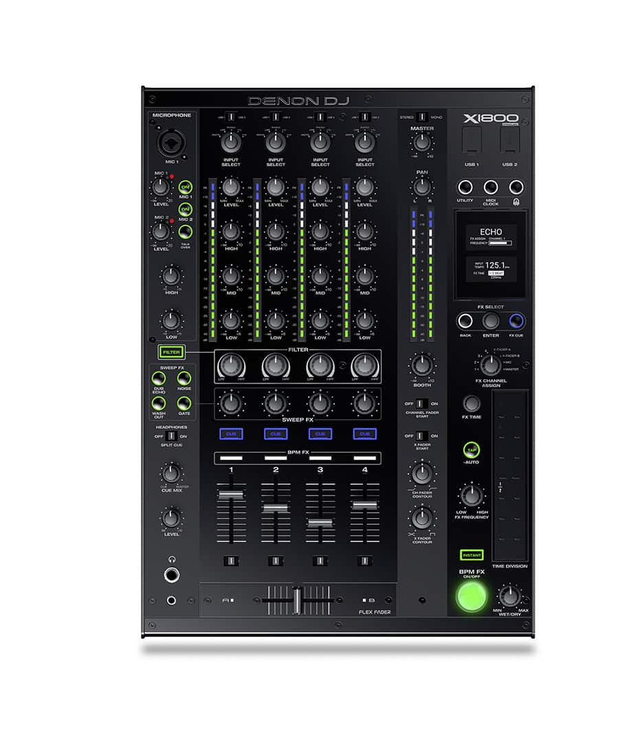X1800 PRIME   4 channel DJ Club Mixer
