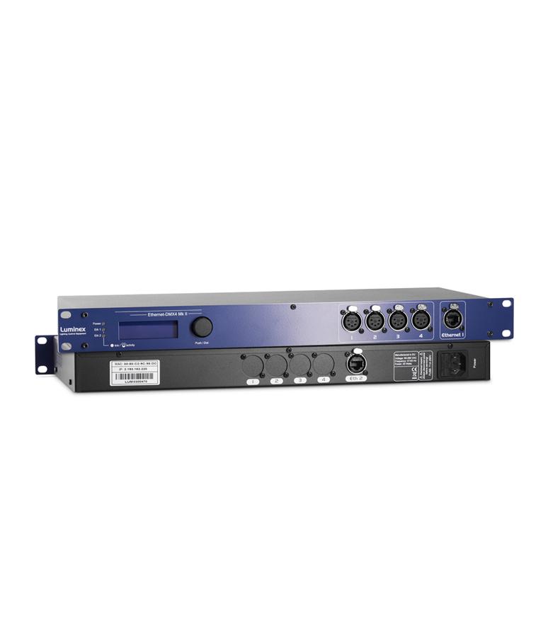 LU 01 00030 Ethernet DMX4 Mkil