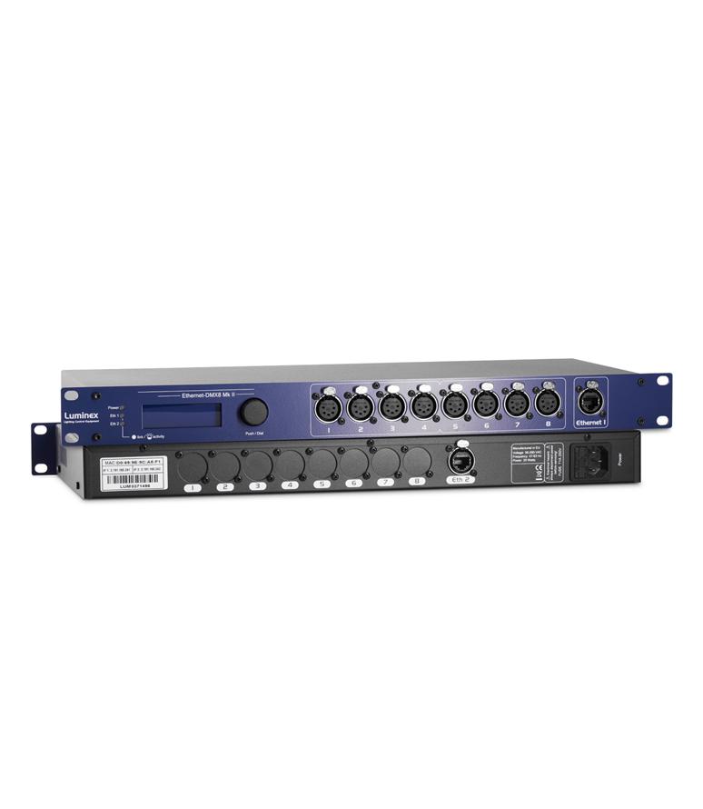 Ethernet DMX8 Mkil