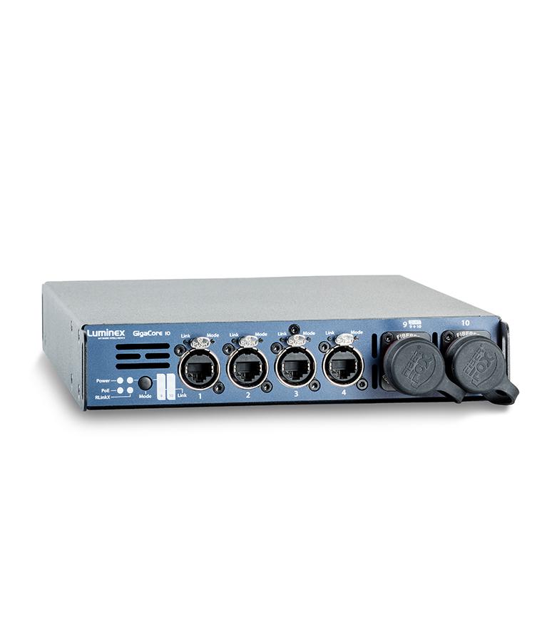 GigaCore 10 8x Neutrik Ethercon