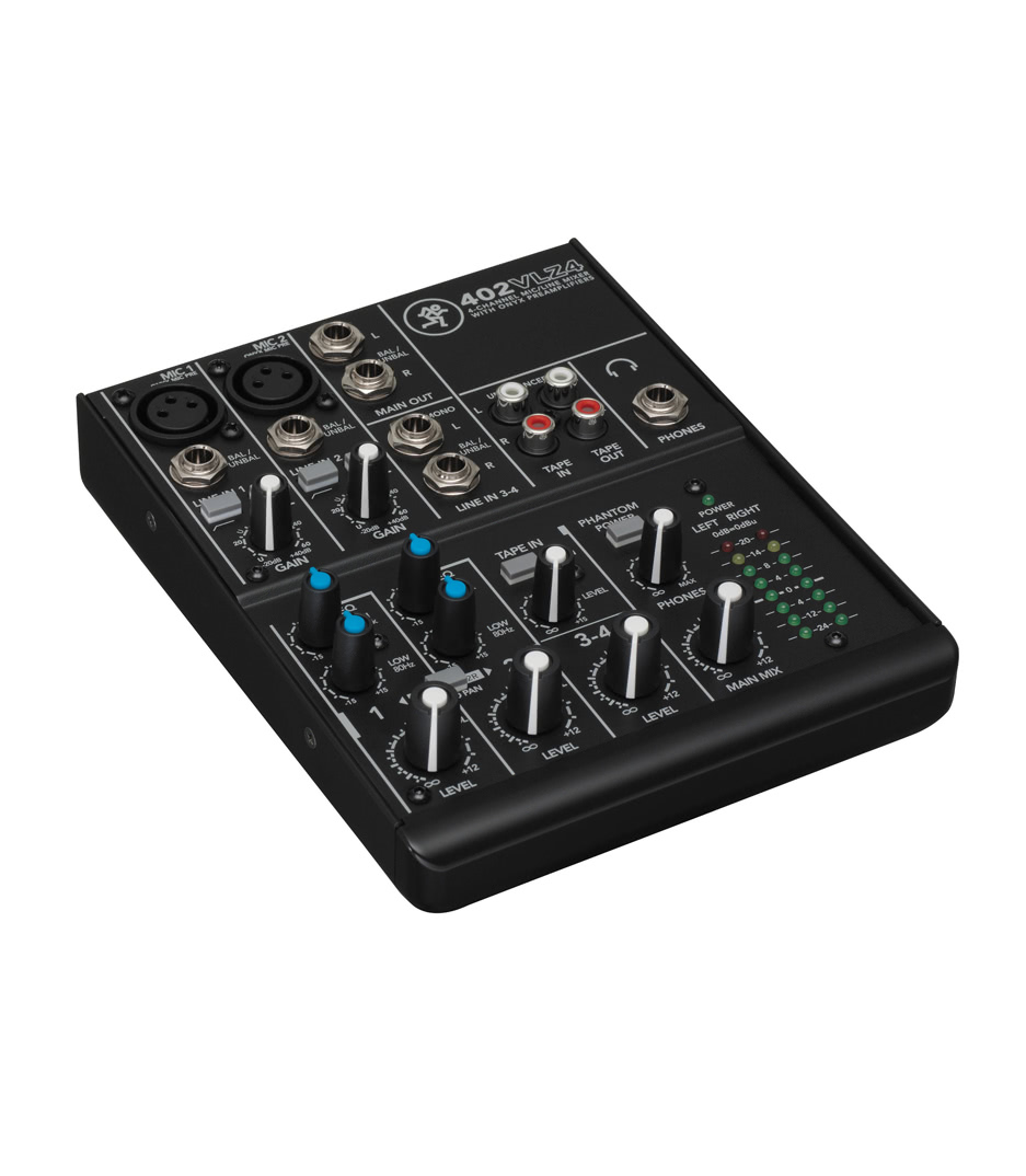4 channel Ultra Compact Mixer