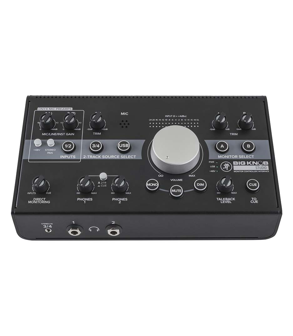Buy mackie Big Knob Studio 3x2 Monitor Controller Melody House
