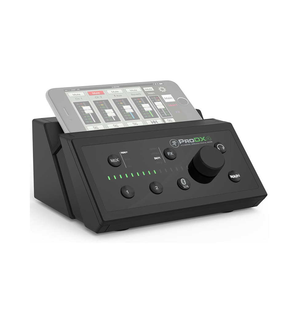 ProDX4 EU 4 Channel Wireless Digital Mixer