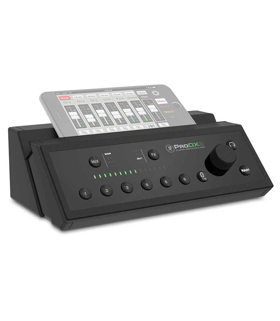 ProDX8 EU 8 Channel Wireless Digital Mixer