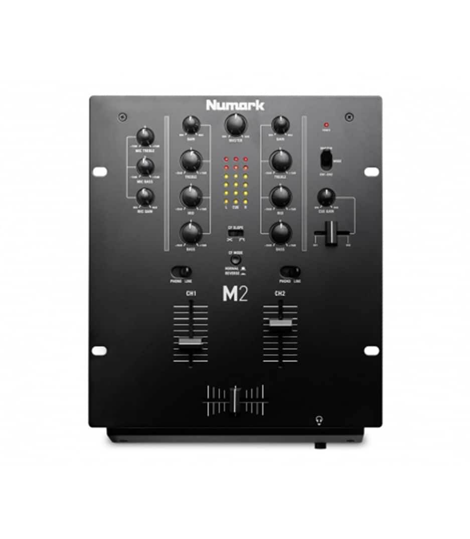 M2BLACK 2 Channel Scratch Mixer