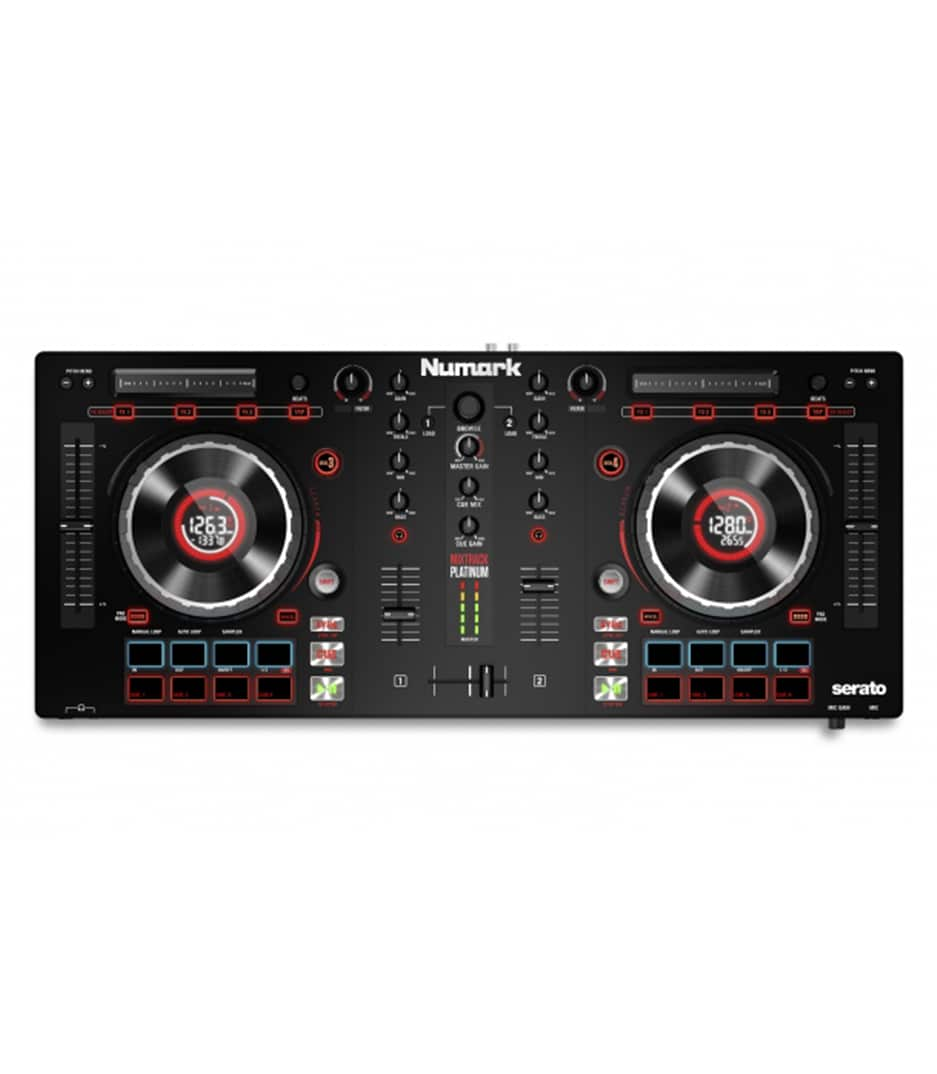 Numark - MIXTRACKPLATINUM DJ Controller With Jog Wheel Disp - Melody House Musical Instruments