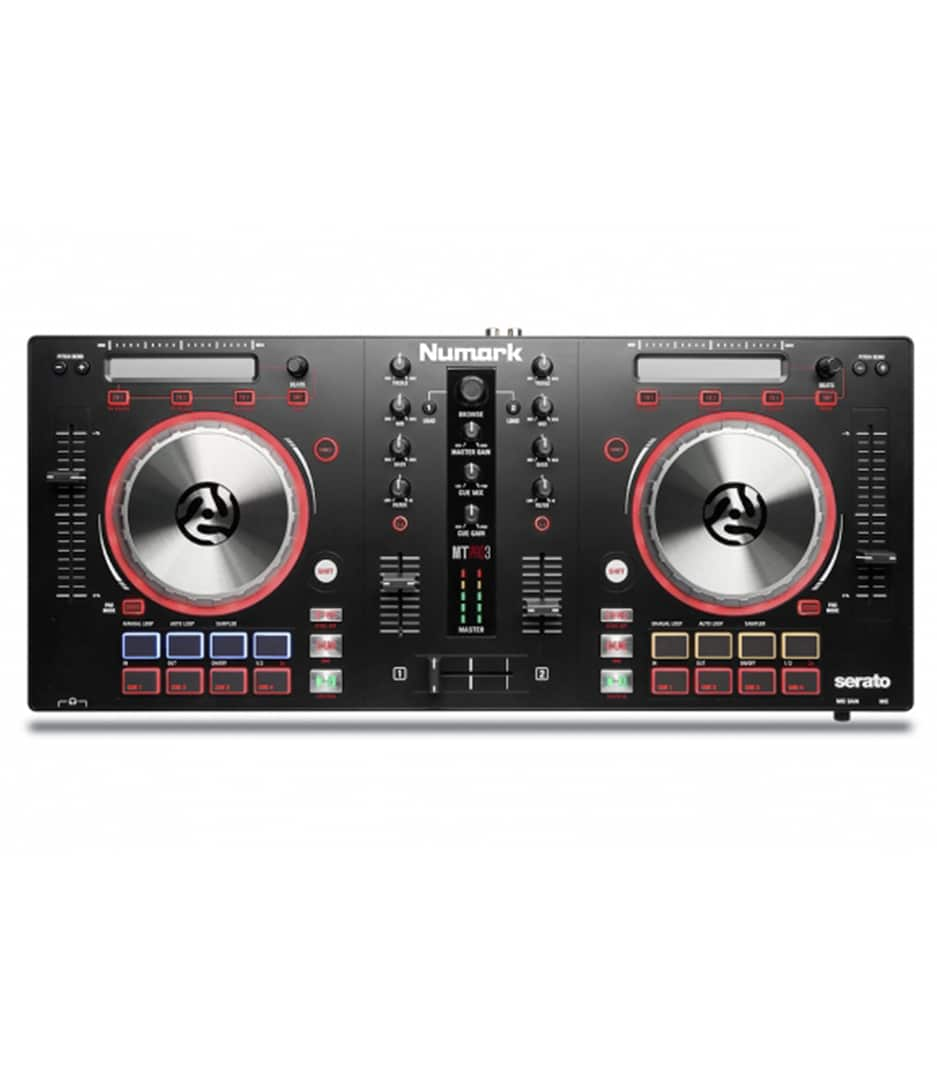 MIXTRACKPLATINUM DJ Controller With Jog Wheel Disp
