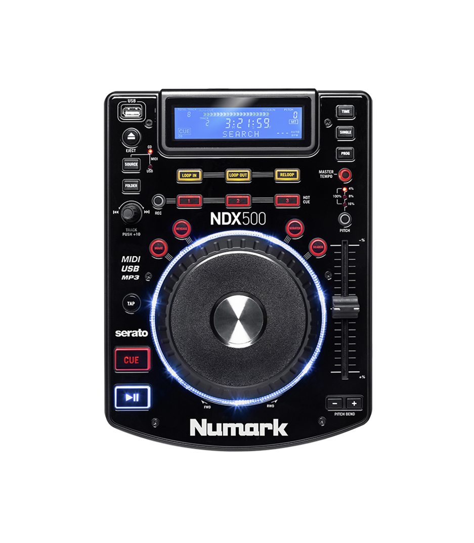 buy numark ndx500 usb cd media player and software controller