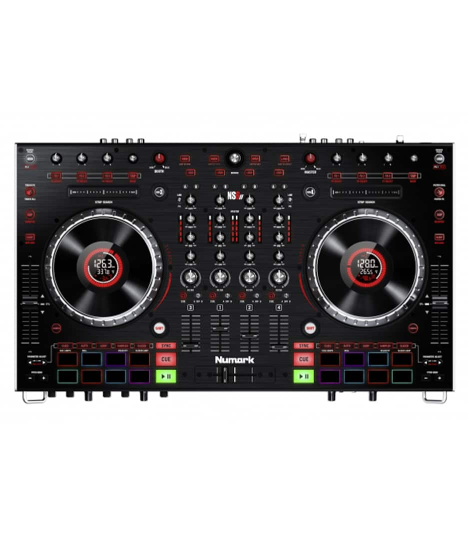 Numark - NS6II 4 Channel Premium DJ Controller - Melody House Musical Instruments