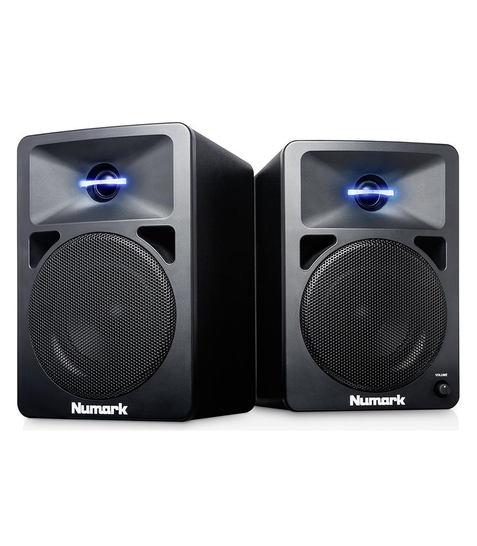 NWAVE580 Powered Desktop DJ Monitors