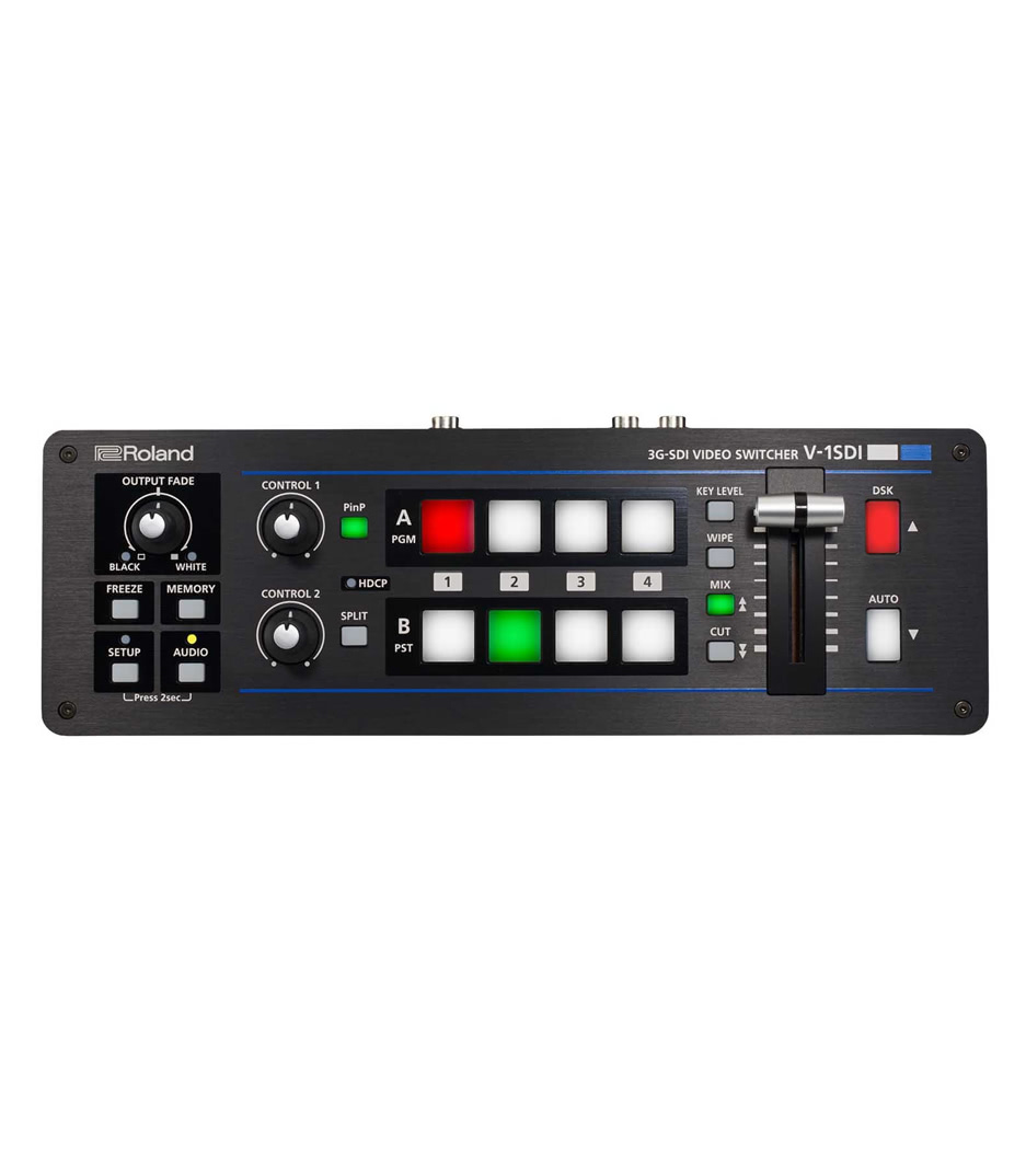 NMK Dubai - Roland Video - V 1SDI 4 Channel HD Video Switcher features 3 x SD