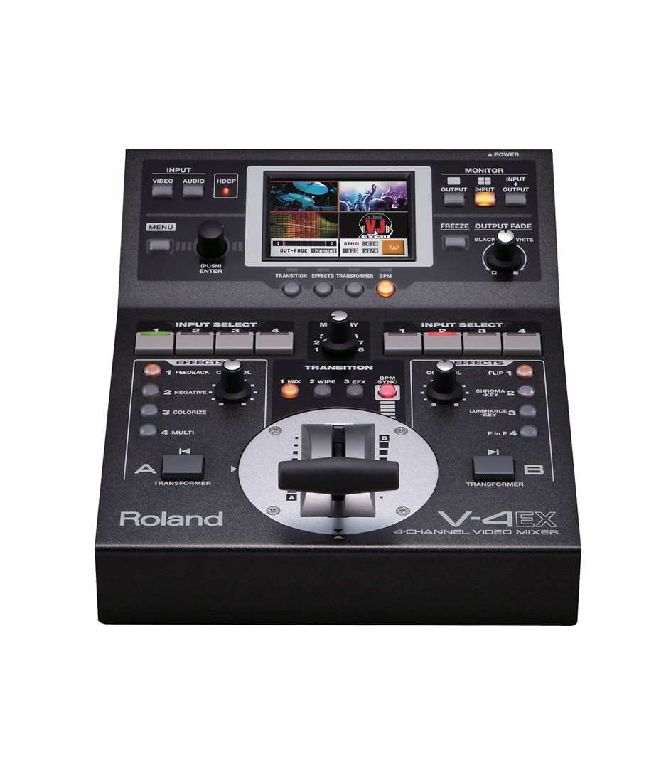 NMK Dubai - Roland Video - V 4EX 4 Channel HDMI Vision Mixer with Embedded Au