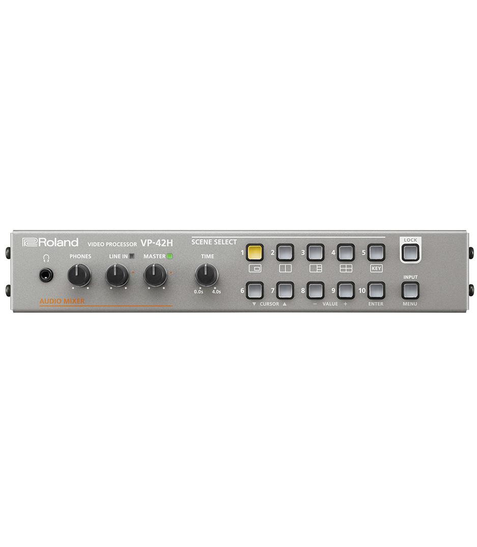 buy rolandvideo vp 42h video processor with lan control