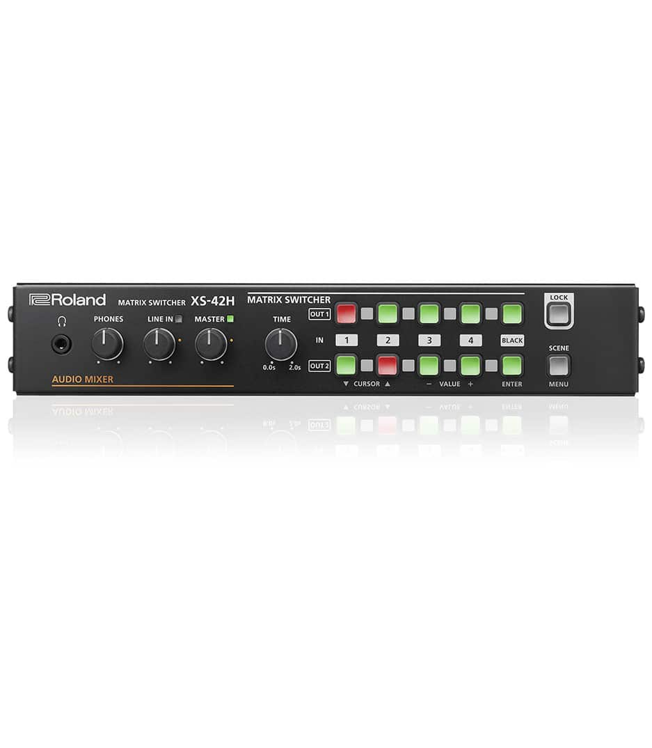 NMK Dubai - Roland Video - XS 42H Matrix Switcher 4 in 2 out with LAN contro