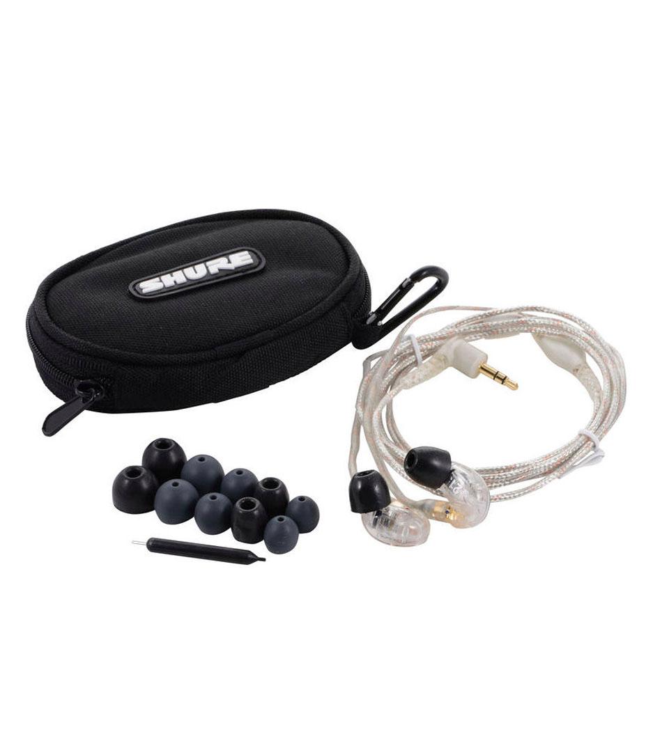 NMK Dubai - Shure - SE215 CL EFS Clear SE215 Earphone w clear standard