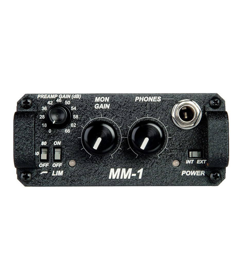 MM 1 Battery powered microphone preamplifier