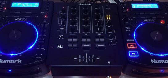 NMK Brand - Mixers Numark M4